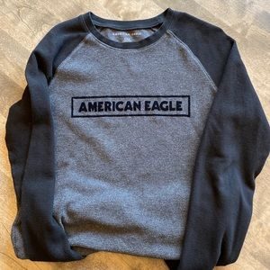 Men's American Eagle Knit Long Sleeve - Medium